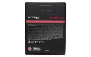 Rückseite einer Verpackung mit zwei DIMMs als Kit (HyperX Predator)