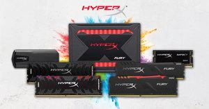 Kingstons HyperX-Marke für Gamer