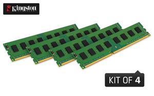 Vier DDR3-UDIMMs als Kit