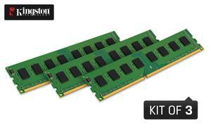 Drei DDR3-UDIMMs als Kit
