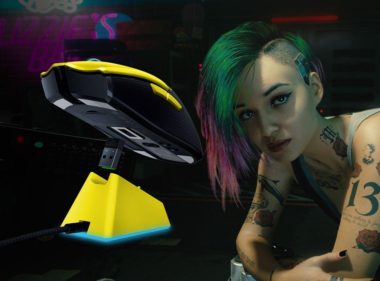 Razer Viper Ultimate Cyberpunk 2077 RGB Gaming Maus