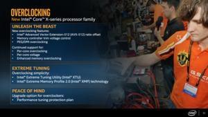 Intels Skylake-X-Prozessoren erreichen bei guter Kühlung alle 5 GHz.