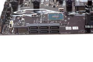 Die Storage-Anschlüsse beim ASUS Prime Z270-A.