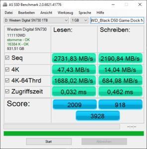 WD_Black P50 Game Dock NVMe SSD 1 TB