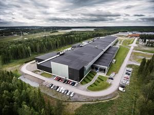 Facebooks neues Rechenzentrum in Luleå.