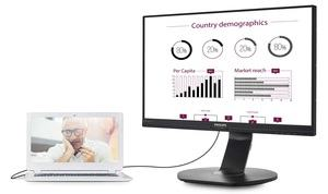 Philips USB-Docking-Display 241B7QUPEB