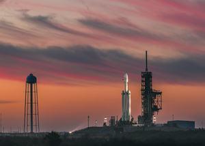 Erstflug der Falcon Heavy von SpaceX