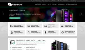 Der Onlineshop von PCZentrum