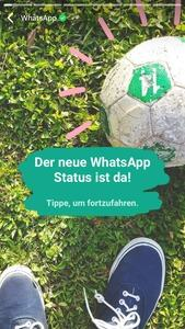 WhatsApp Statusfunktion