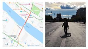 Googlemapshacks von Simon Weckert