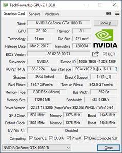 KFA2 GeForce GTX 1080 Ti EXOC