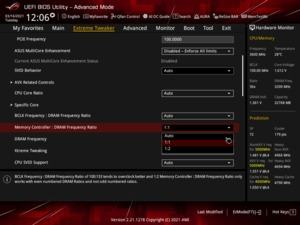 ASUS ROG Maximus XIII Hero - BIOS