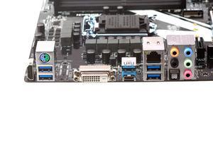 Das I/O-Panel beim ASRock Z270 Killer SLI, allerdings ohne USB 3.1 Gen2.