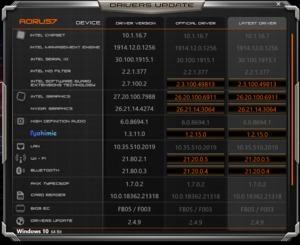 Die Software des Gigabyte Aorus 7 SA