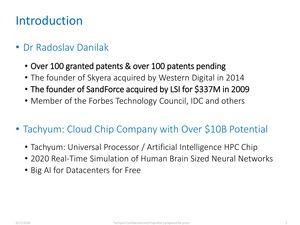 Tachyum Projekt Prodigy