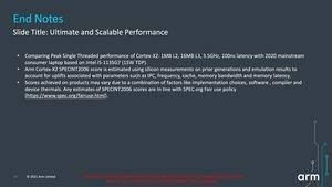 ARM Cortex auf Basis von Armv9