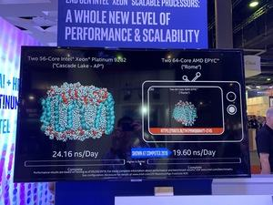 2x EPYC 7742 gegen 2x Intel Xeon Platinum 9282