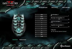 Sharkoon Drakonia II - Software