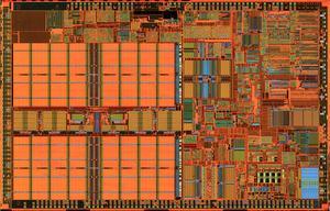 Dieshots des Pentium II und Pentium III
