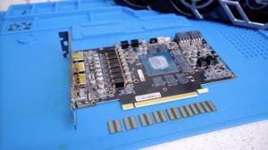 Speichertausch auf einer GeForce RTX 3070