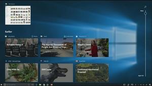 Timeline ist Bestandteil des Windows 10 Fall Creators Update und soll Sprünge in die Systemvergangenheit einfach machen
