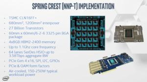 Intel NNP-T (Quelle: Tomshardware)