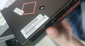 Engineering Sample einer Radeon RX 6600 XT