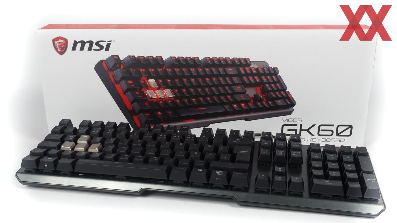 Msi Vigor Gk60 Im Test Gaming Keyboard Mit Cherry Mx Red Hardwareluxx