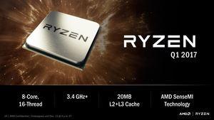 Mit den RYZEN-Prozessoren wirdl AMD endlich wieder ernsthaft mit Intel konkurrieren