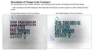 Intel Product Change Notification Q12017