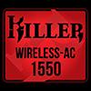 rivet networks killer wireless ac 1550 logo