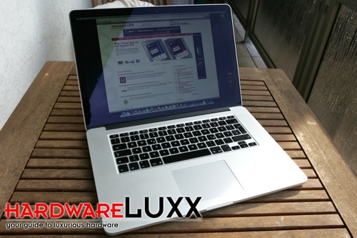 MacBook Pro mit Retine-Display