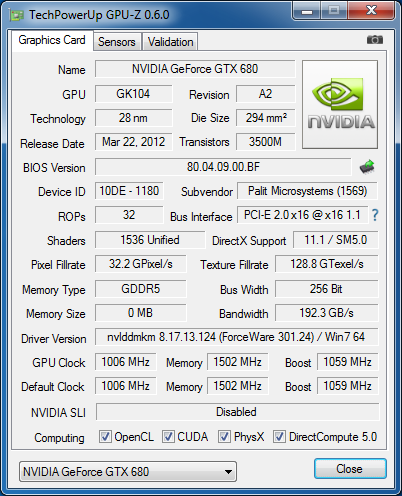 Test: Palit GeForce GTX 680 4 GB Jetstream - Hardwareluxx