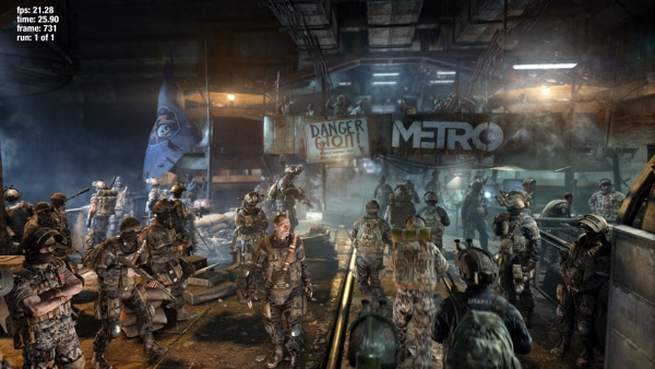 4K-Screenshot von Metro: Last Light