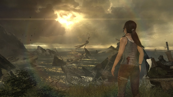 4K-Screenshot von Tomb Raider