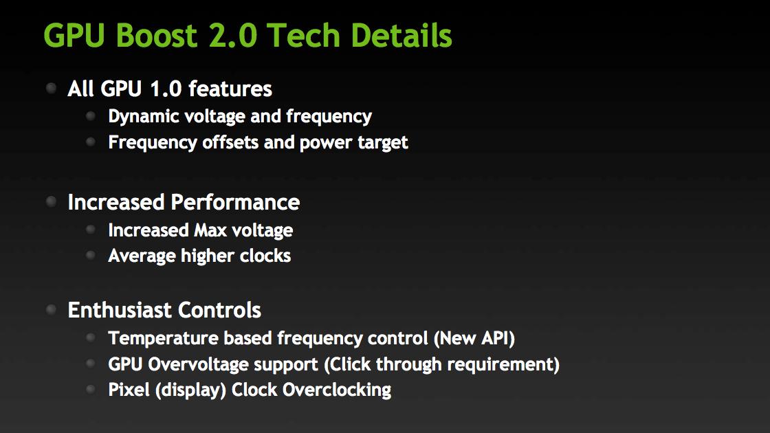 Gpu boost 2. 0   видеокарты nvidia geforce.