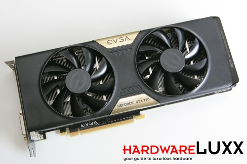 EVGA GeForce GTX 770 Superclocked ACX