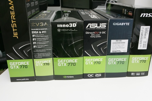 Retail-Modelle der GeForce GTX 770