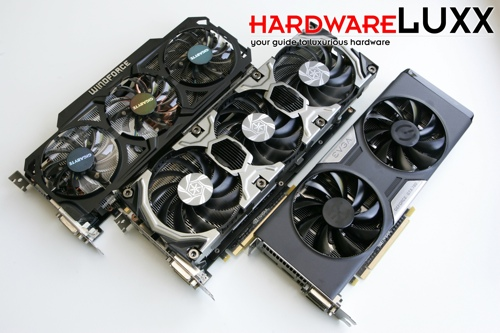 NVIDIA GeForce GTX 780 Retail-Karten