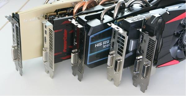 Протестированные видеокарты Radeon R9 280