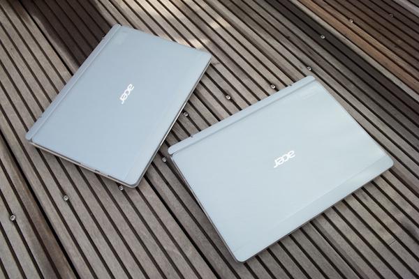 SoC и дисплей изменились, но корпус остался старым: Aspire Switch 10 (слева) и Aspire Switch 10 FHD (справа)