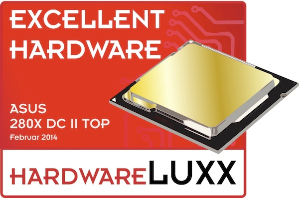 asus r9 280x dx2 top award