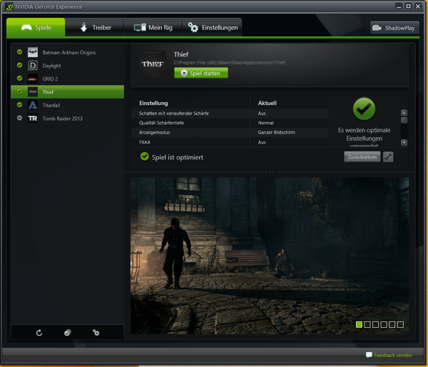 NVIDIA GeForce Experience Thief