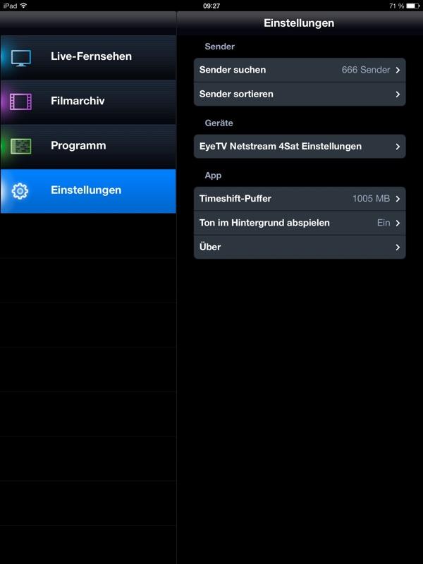 Elgato EyeTV Netstream 4Sat im Test - Hardwareluxx