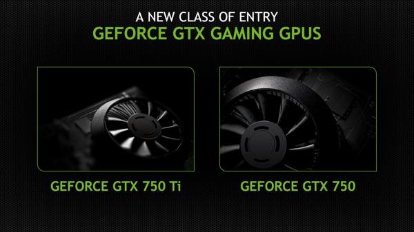 NVIDIA stellt die GeForce GTX 750 und GTX 750 Ti vor