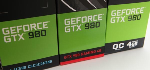 Сегодня мы протестируем три модели GeForce GTX 980 с альтернативным дизайном