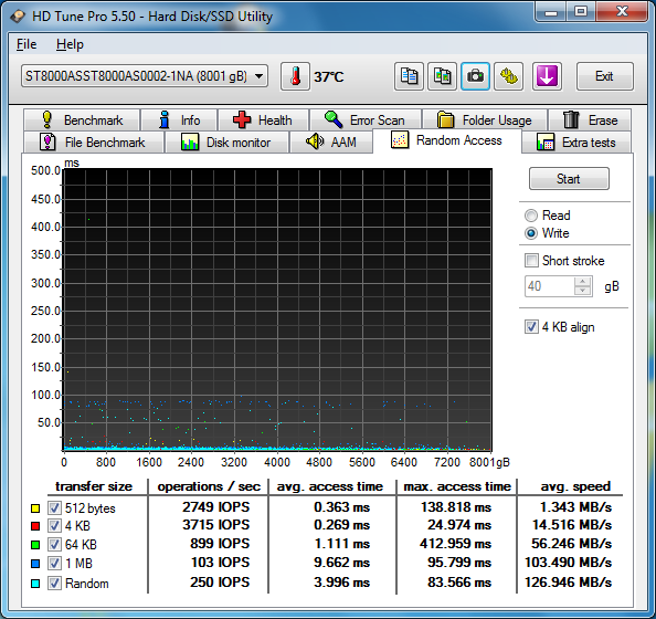 seagate st8000as0002 hdtune