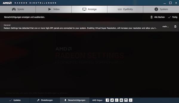 AMD Radeon Software Crimson Edition