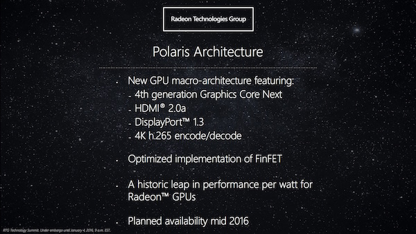 AMD Polaris-Architektur