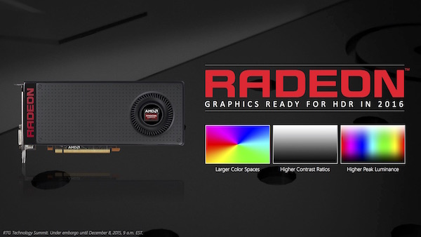 AMD Radeon Technologies Group Update Dezember 2015